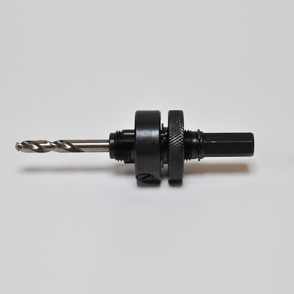 Hållare, skaft 7/16 (11,0 mm) med borr för hålsåg Ø 32-152 mm