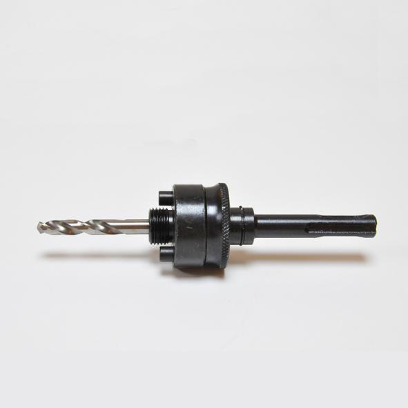 Hållare, skaft SDS, med borr för hålsåg Ø 32-152 mm