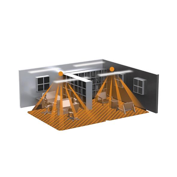 Detektering för Control Pro IR SLIM XS