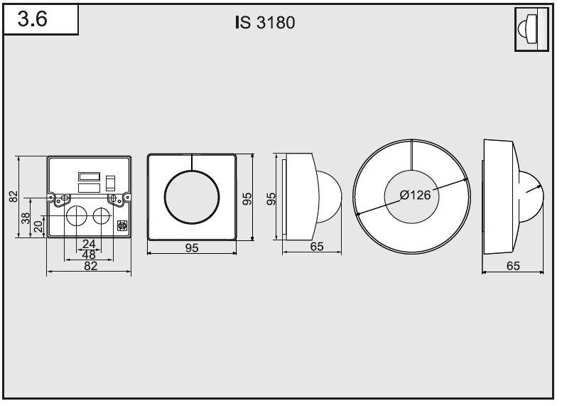 Måttskiss IS3180
