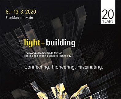 Light and building Framfurt am Main 2020